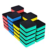 Eathtek 36 Packed Magnetic Whiteboard Dry Eraser Chalkboard Cleansers Wiper For...