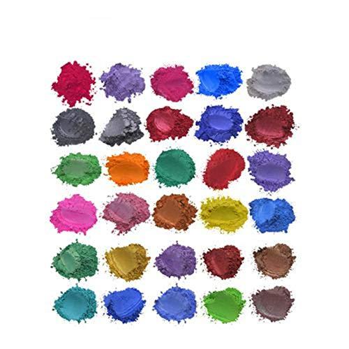 Epoxidharz Farbe, Herstellung Von Farbstoffen, Handgemachte Seifenherstellungstools, Pulverpigmente, Seifenflüssigkeit, Harzfarbstoffe, Kerzenherstellung, Lidschatten, Rouge, Nagelkunst, Harzschmuck