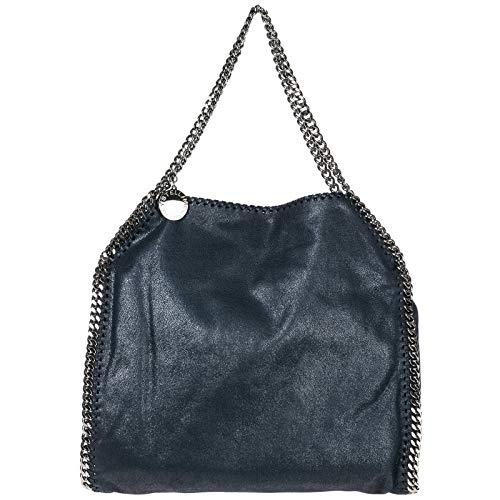 Stella McCartney mujer falabella small bolsa de asa larga blu