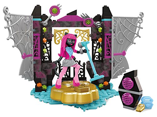 Mega Construx Monster High Catty Noir Stage Fright Building Set