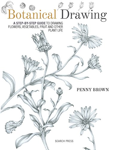Botanical Drawing: A step-by-Step guide to drawing flowers, vegetables, fruit and other plant life (English Edition)