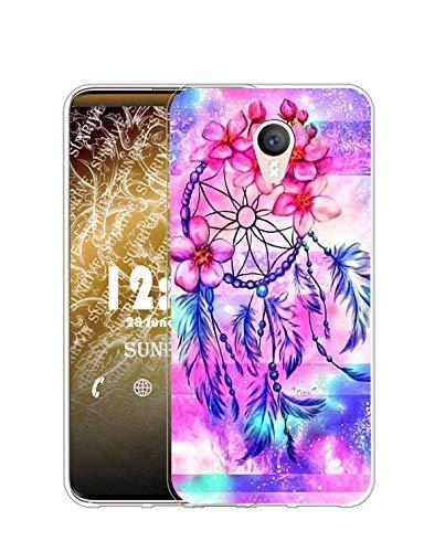 Sunrive Funda Compatible con Meizu M2 Note, Silicona Slim Fit Gel Transparente...