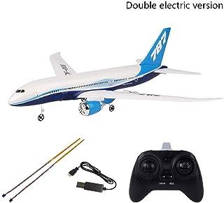 RC Airplane, DIY EPP Foam Remote Control Aircraft RC Drone QF008-Boeing 787-2.4G 3Ch RC Aeroplane Toys Fixed Wing Plane Ki...