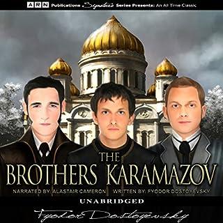The Brothers Karamazov audiobook cover art
