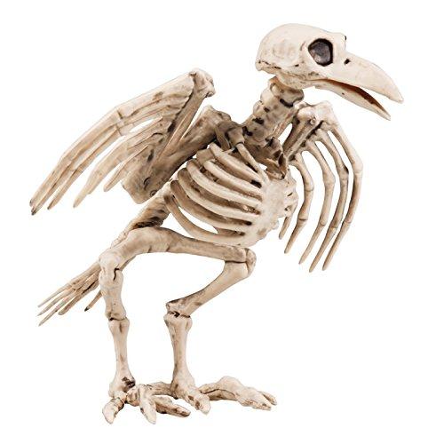Panelize Skelett Dungeons Vogelskelett Tierskelett Halloweendeko Horror