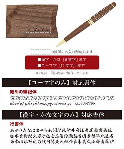 きざむ『名入れ木製ボールペン&名刺入れギフトセット』