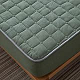 haiba Anti alergia Chinches Cama impermeable Colchón Total Encasement Protector Cubre,I,150x200cm