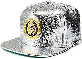 Hats Cruz Women's Autumn Simple Golf Jogging Fishing Lightweight Type Thin Plate UV Cut Adjustable Outdoor Cap Summer Hip Hop Baseball Cap Men's Hat Fashion (Color : Silver)