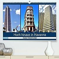 Hoch hinaus in Havanna - Kubas Wolkenkratzer (Premium, hochwertiger DIN A2 Wandkalender 2022, Kunstdruck in Hochglanz): Hochhaeuser verschiedener Stilepochen in Havanna (Monatskalender, 14 Seiten )