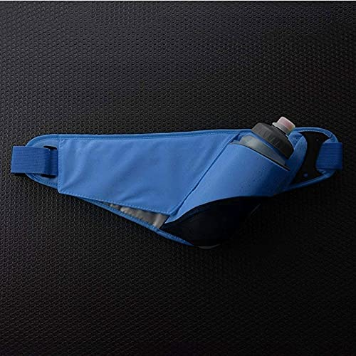 XMDDDA Bolso de Cintura Fitness Fanny Pack, Paquete de Cintura Ajustable, Delgado, cómodo con Clip de Llavero Seguro: se Adapta a Todos los Modelos de teléfono, Llaves, Tarjetas, geles de Combustible