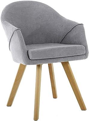 Amazon.com: Silla de comedor ALY Silla moderna minimalista ...