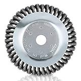BMOT Spazzola Erbacce 200 x 25,4 mm Decespugliatore Rotonda Rotante Testa Di Taglio In Fil...