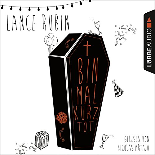 Bin mal kurz tot audiobook cover art