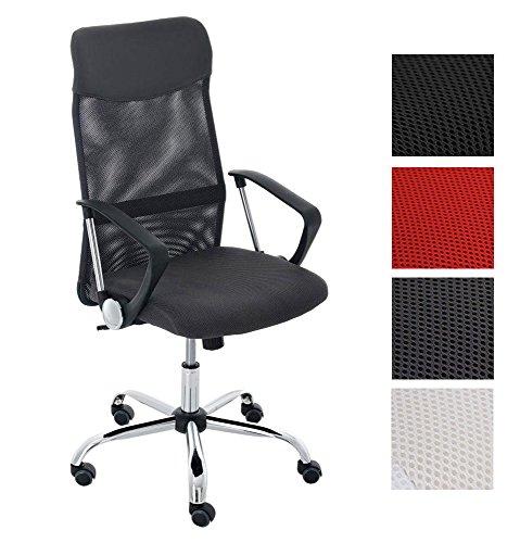 CLP Bürostuhl Washington V2 höhenverstellbarer Drehstuhl mit Wippfunktion | Schreibtischstuhl mit...
