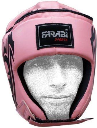 Farabi Fight Gear escuchar Guardia Boxeo MMA Muay Thai Entrenamiento Práctica, cara completa casco protector cabeza (XS) ✅