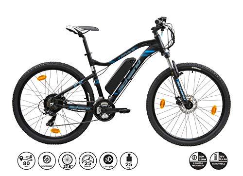 F.lli Schiano Braver, Bicicletta elettrica 27.5 Unisex Adulto,...