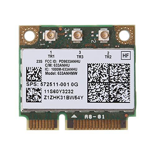 Tjian Dual Band 6300AN Media Mini PCIe para In-tel Tarjeta Wifi 450M para H-P 8770w 8760w