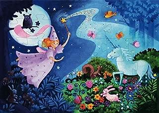 Djeco / Shaped Box Puzzle, The Fairy and The Unicorn