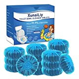 16 PCS Toilet Bowl Cleaner, Automatic Toilet Bowl Cleaner Tablets for Toilet Cleaner, No Pungent Odor Bathroom Toilet Tank Cleaner, Totally 28.3Oz, Long-Lasting for Toilet Clean Bubbles
