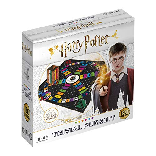 Winning Moves 033343 - Harry Potter Ultimate Trivial Pursuit, Color, Idioma Inglés