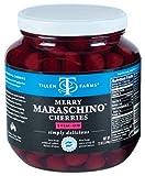 Tillen Farms Cherries, Maraschino, 72 Ounce (Pack of 2)