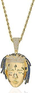 Grokebo 記念ネックレス 調節可能 チェーンネックレス 記念ペンダント 模造ダイヤモンド アクセサリー
