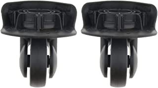 D Dolity 2 Pieces DIY Travel Luggage Left And Right Swivel Coaster Wheels A65-Size L