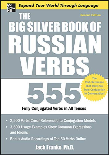 The Big Silver Book of Russian Verbs, 2nd Edition (Big Book Series)
