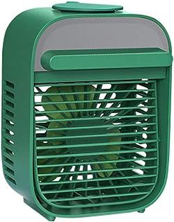 HSJDP Enfriador de Ventilador de Escritorio Ventilador pequeño para Oficina en casa Enfriador de Aire Personal Aire Acondicionado de sobremesa pequeño de Escritorio para el hogar