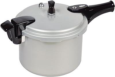 パール金属 ホットクッキング アルミ IH対応 圧力 鍋 6.0L 1升炊 HB-378