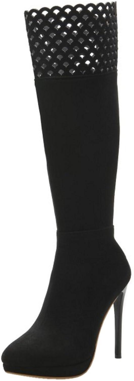 FizaiZifai Women Fashion Boots Zipper