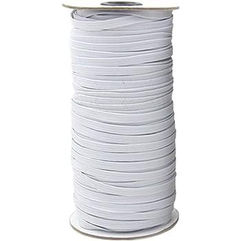 1 km Bande élastique 30 mm-Tissés-Blanc
