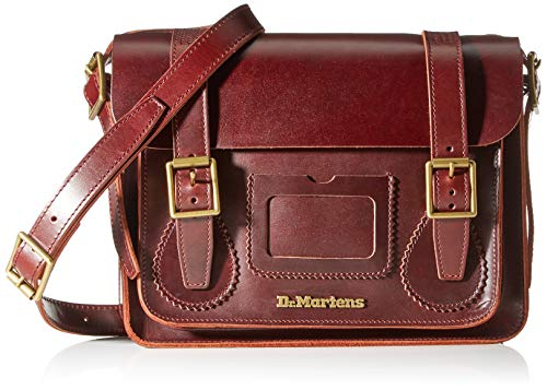 Dr. Martens 11 Inch Leather Satchel AB097230; Unisex Bag; AB097230; Brown; One Size EU (UK)