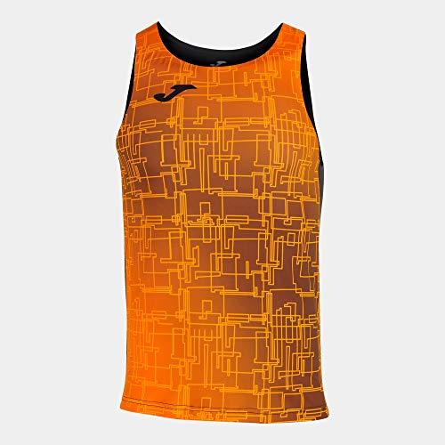 Joma Camiseta Tirantes Élite VIII Negro Naranja - Niño