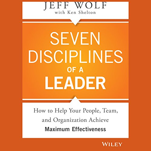 Seven Disciplines of a Leader audiobook cover art
