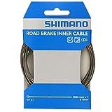 シマノ(SHIMANO) ブレーキインナーケーブル ロード用SUS 2050mm×φ1.6mm Y80098330