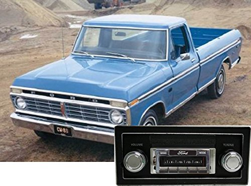Custom Autosound Stereo compatible with 1973-1979 Ford Truck, USA-630 II High Power 300 watt AM FM Car Stereo/Radio