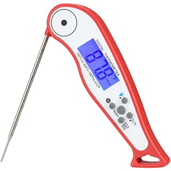 White Wrenwane Digital Meat Thermometer Instant Read