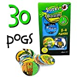 POG Retro Game | Sotki Boom | 30 Included Pogs Famalies, 5 Years + Relive Your Cool 90s Childhood with Our Retro Nostalgia POG Milk Cap KAPS POG Family Game 2 - 4 Players: 30 Pogs, 2020 Edition