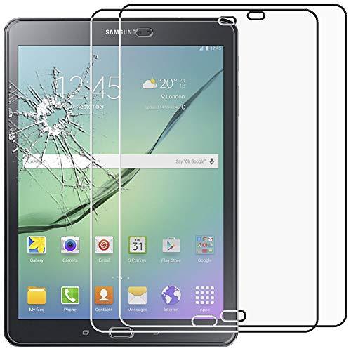 ebestStar - kompatibel mit Samsung Galaxy Tab S2 9.7 Panzerglas x2 SM-T813, T815 T810 Schutzfolie Glas, Schutzglas Bildschirmschutz, Bildschirmschutzfolie 9H gehärtes Glas [Tab: 237.3 x 169 x 5.6mm, 9.7'']