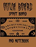 OUIJA BOARD spirit board and notebook: also known as a spirit board or talking board, is a flat board marked with the letters of the alphabet,