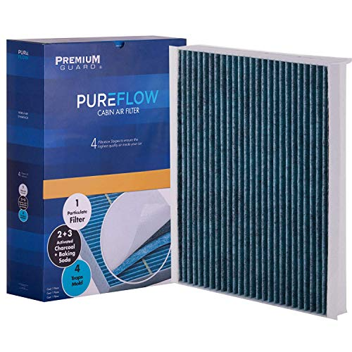 PureFlow Cabin Air Filter PC8214X| Fits 2015-20 Ford F-150, 2017-20 F-250 Super Duty, F-350 Super Duty, 2018-20 Ford Expedition, 2017-20 F-450 Super Duty, 2019-20 Lincoln Navigator