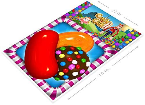 PosterGlobe Poster B119 Candy Crush Smart Phone App Icon 12' x 18'