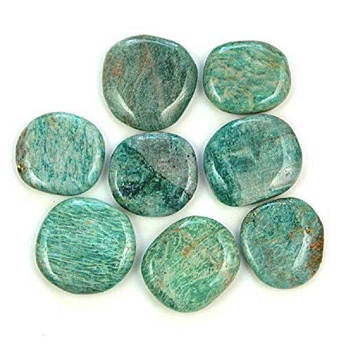 Min/éraux et fossiles C22 Galet Plat l/épidolite Naturosph/ère A lunit/é Poids 31 /à 40 grammes