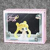5.5Cm Anime Sailor Moon Petit Chara Land Princess Serenity con Llavero PVC Figura de acción Modelo C...