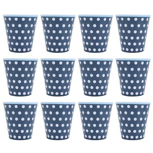 Taza de té, innovadora taza de melamina 12 piezas para fiesta para la escuela para Restaurante para el hogar