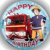 Premium Esspapier Tortenaufleger Tortenbild Geburtstag Feuerwehrmann Sam T19