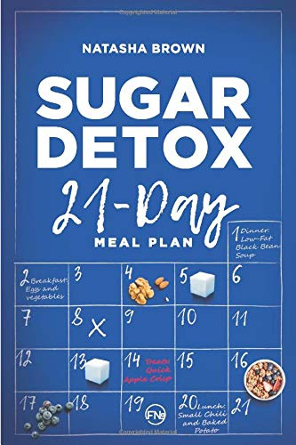 Sugar Detox. 21-Day Meal Plan: Overcome your sugar craving with these great 'bad' sugar free recipes! (Weight Loss)