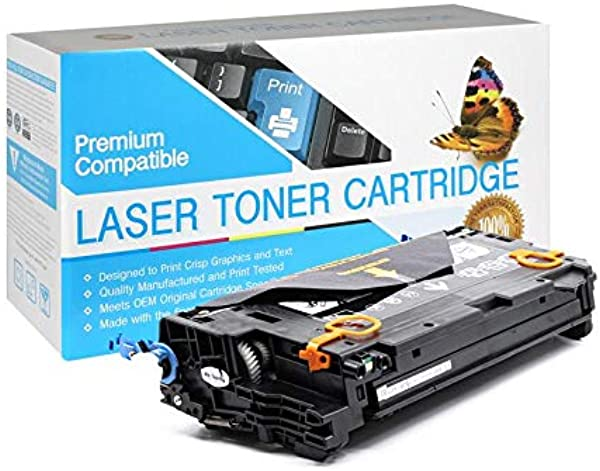 SuppliesOutlet Compatible Toner Cartridge Replacement For HP 502A Q6470A Black 1 Pack