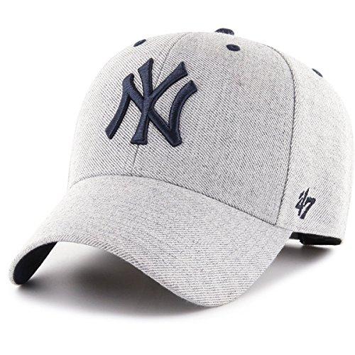 '47 Brand Baseball Cap stmcd17whv CC New York Yankees Kappe grau